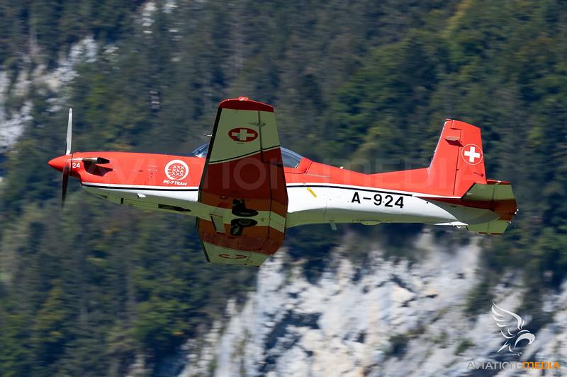 Switzerland - Air Force | Pilatus PC-7 | A-924