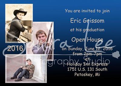 Eric Grissom Invitations Graphic Design - Petoskey - Bay Harbor