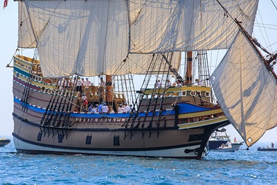 Mayflower II Returns Home  8/11/20