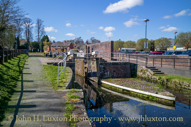 Montgomery Canal: Gallowstree Bridge 117 to  Belan Locks - April 15, 2021