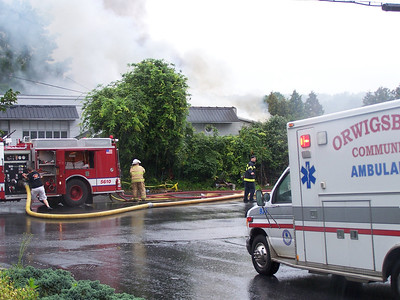 ORWIGSBURG BUILDING FIRE 8-14-2011 PICTURES AND VIDEOS BY BRAD MILLER