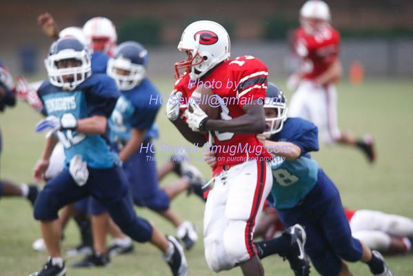 09-22 G'ville 8-grade vs South Hall
