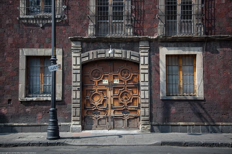 Sinagoga Histórica at Calle Justo Sierra, Mexico City-6.jpg