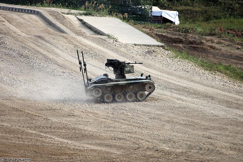 Робототехнический комплекс Нерехта (Nerekhta unmanned ground vehicle)