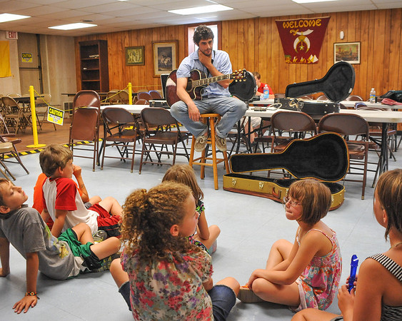 2013 Summer Arts Camp with Cranston Dean