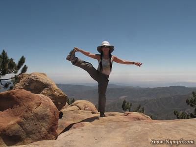 2012 (July 5) Reyes Pk and Haddock Mtn Solo Hike, Sespe Wilderness  (NEW PEAK)