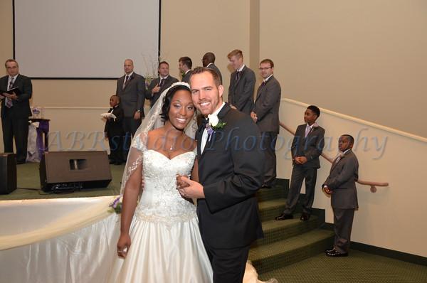Tiara and Josh Wedding