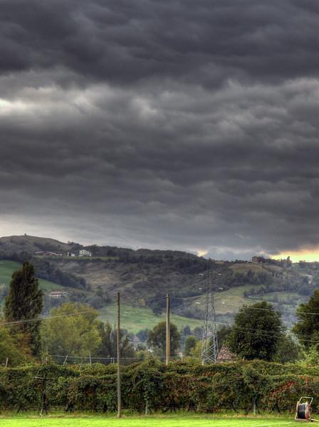 Fall - Scandiano, Reggio Emilia, Italy - October 18, 2009