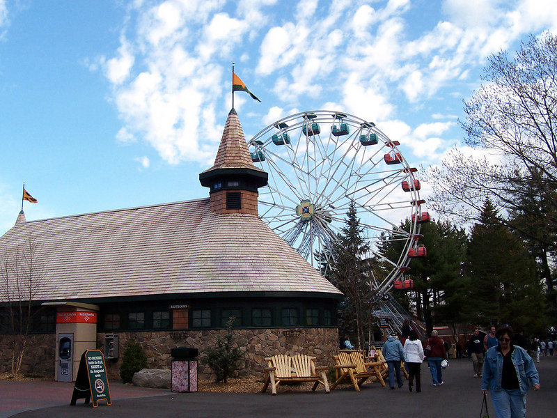 The first day of Canobie's 2008 season was great.