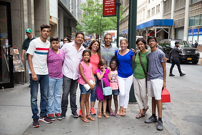 NYC - Parakh & Ritu in the US