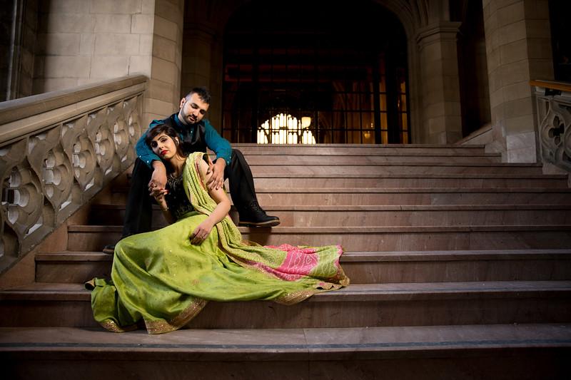 Ayesha & Syed's E-shoot