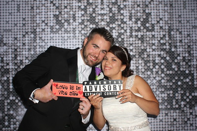 Doris and Brandon's Avalon Manor Wedding Photo Booth