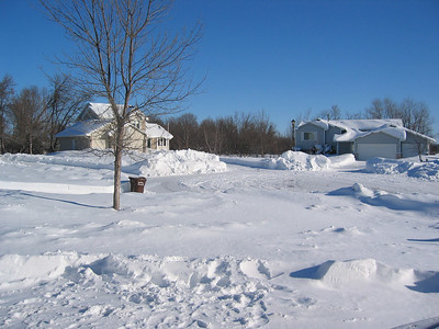 Winter storm - Rogers, March 2007