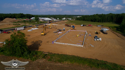 Bell Store Construction Canal Fulton, Ohio 6-12-17