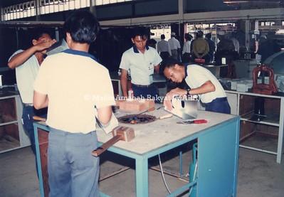1993 - LAWATAN PENGERUSI MARA KE SARAWAK
