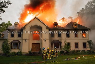 Cherry Gate Ln. Fire (Trumbull, CT) 6/26/09