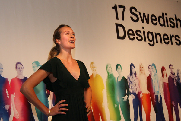 November 6, 2009, Cleveland is first for US Tour- 17 Swedish Women Designers.