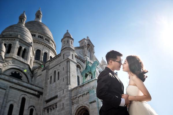 Pre-Wedding-巴黎-小溫&Boss