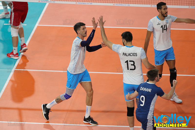 Poland 3 - Argentina 2 Volley Nation League Men 2019 Allianz Cloud, Milano, 21/06/2019