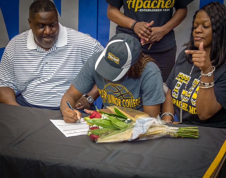 Jasmine, William,s Scholarship, Signing, 05-15-15, 2015, NCHS-17