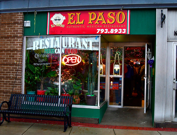 12/21/2018 Mike Orazzi | Staff The El Paso Mexican Restaurant on East Main Street in Plainville.
