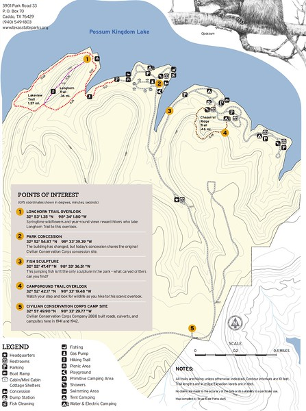 Possum Kingdom State Park (Trails)