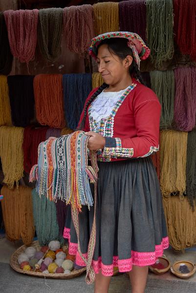 Cusco, Llamas and Valley