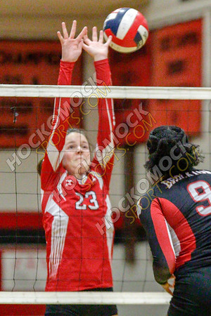 North Attleboro-Brockton Volleyball - 11-01-18