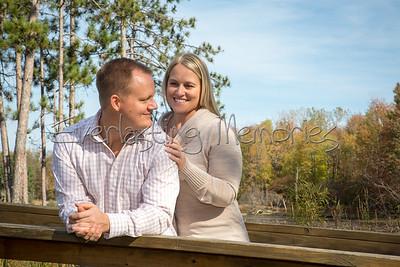 Erica and David Wojcik Engagement