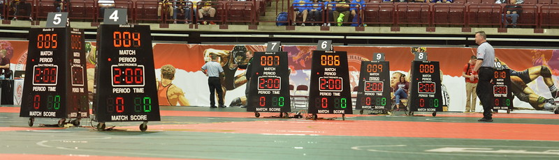 2017 OHSAA State Wrestling - Day 1