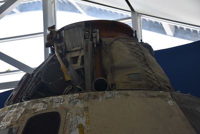 Apollo 4 Command Module on display at Infinity Science Center