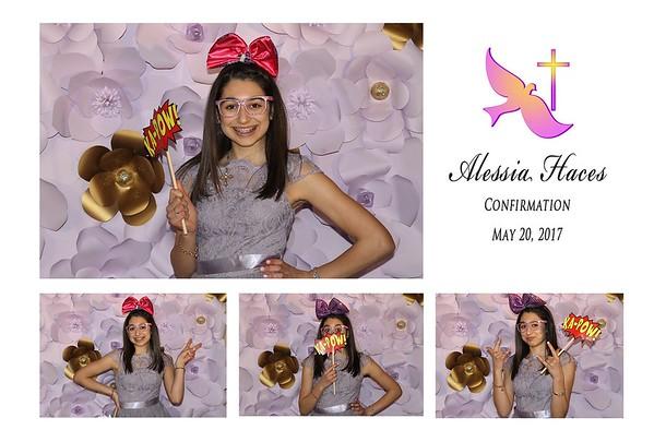 Alessia Haces Confirmation