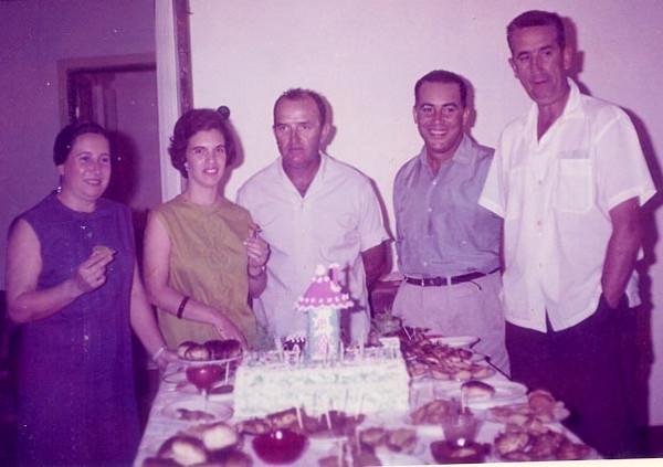 Celina Correia de Oliveira, Arlinda Rios, Rios, Adalberto e Correia de Oliveira