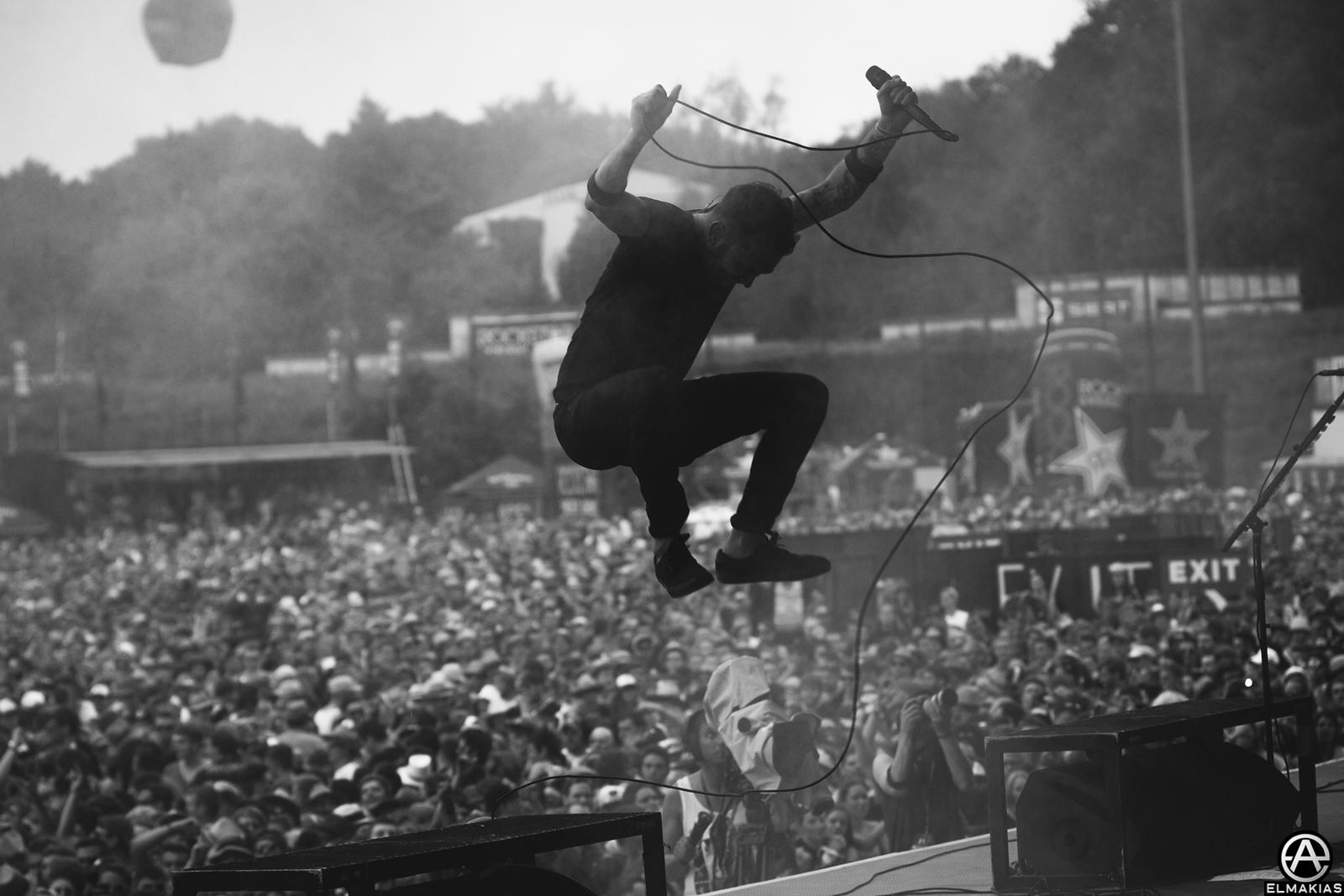 Rise Against live in Mendig, Germany at Rock IM Park 2015