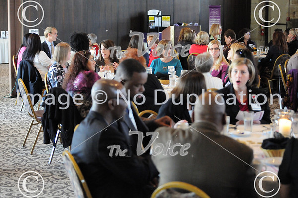 Women's Power Luncheon at The Roundhouse in Aurora, IL 9-27-12