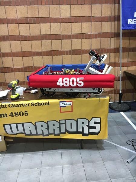 4805 - Robotics Warriors
