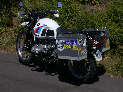 1986 BMW R80G/S Paris Dakar