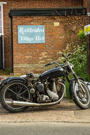 Rattlesden (Five Bells) Bike Show 2015