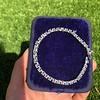 9.50ctw Round Brilliant Diamond Tennis Bracelet 18