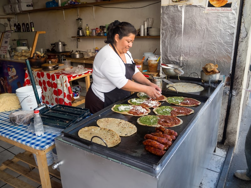 street food in centro historico - mexico city travel blog