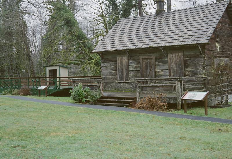 Settler Cabin on Skagit River