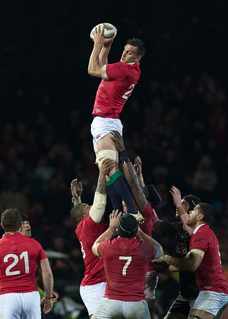 Sam Warburton during game 5 of the British and Irish Lions 2017 Tour of New Zealand,The match between  The Maori All Blacks and British and Irish Lions, Rotorua International Stadium, Rotorua, Saturday 17th June 2017 (Photo by Kevin Booth Steve Haag Sports)  Images for social media must have consent from Steve Haag