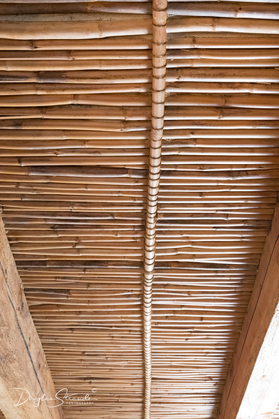Fire Roof under Thatch Roof