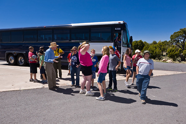 2011 CCS 6th Grade Trip - Day 2 - May 5th - Grand Canyon Desert View Tower