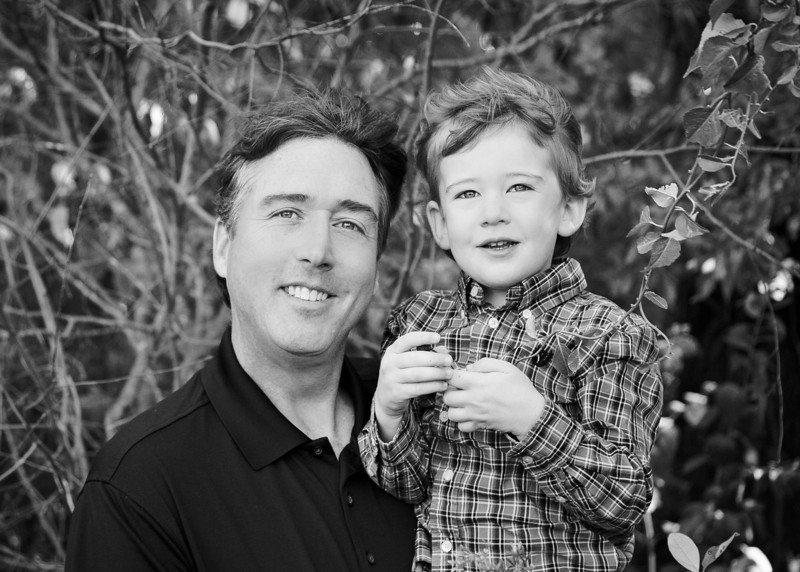 Daddy and Me bw (1 of 1).jpg