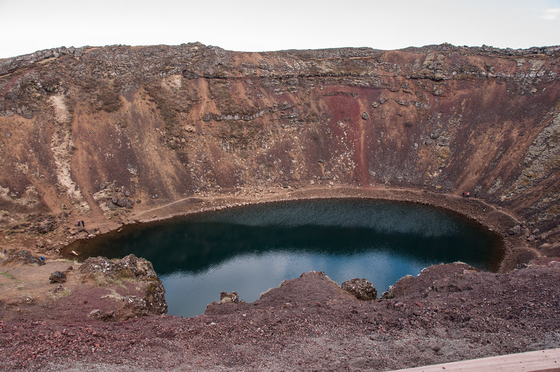 2016.05.21 - Reykjavik, Iceland. Kerid, volcanic crater.