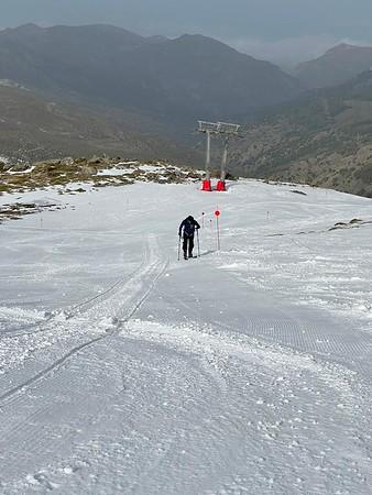 Ski Touring Veleta 2 March 2021