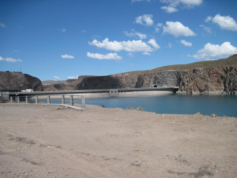 Reservoir along Rute 40