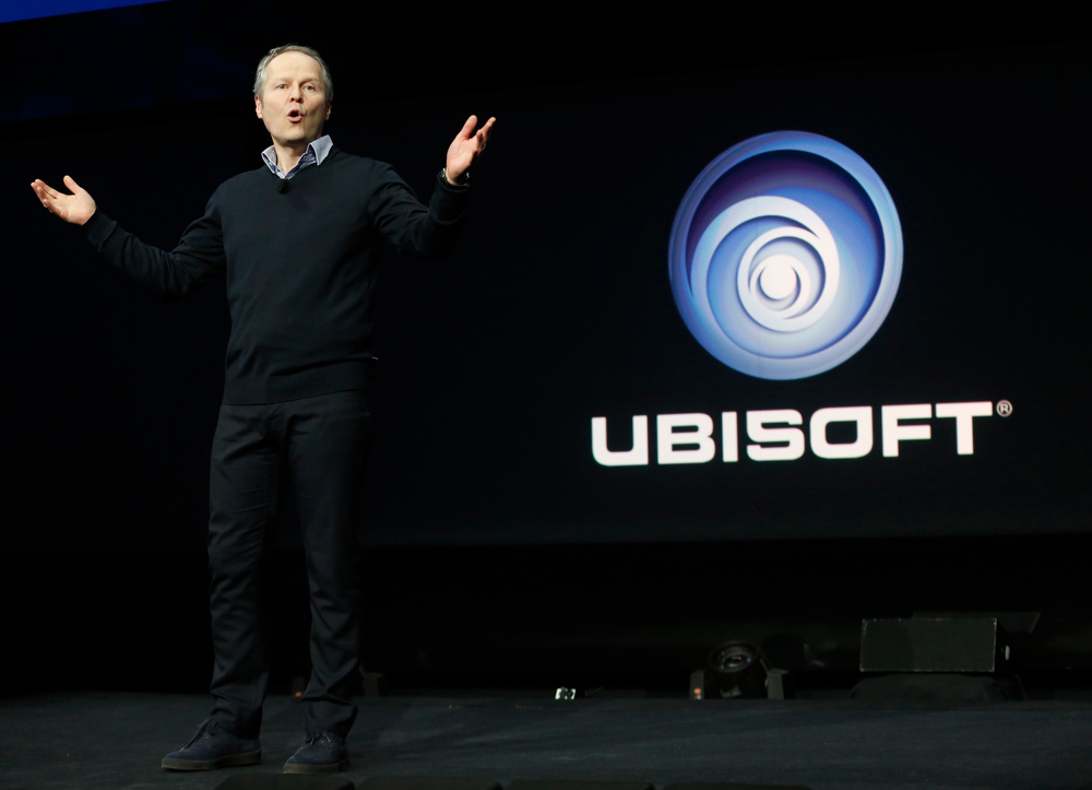 . Ubisoft CEO Yves Guillemot speaks during the PlayStation 4 launch event in New York, February 20, 2013. REUTERS/Brendan McDermid