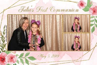 Julia's First Communion 5.5.19